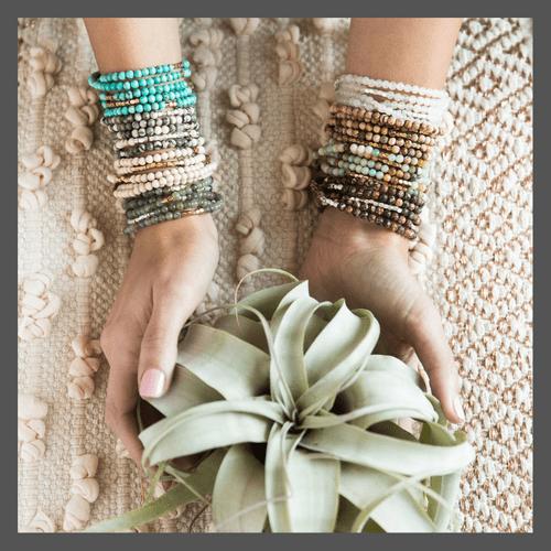 Stone Wrap Bracelets and Necklaces