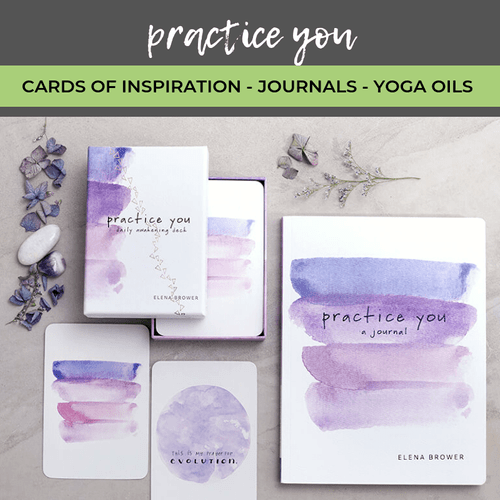 Practice You - Journal, Cards with Inspiration & Essential Oils for Yoga