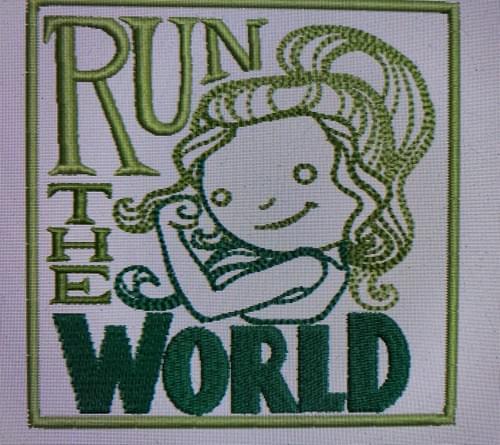 Run the world fun patch