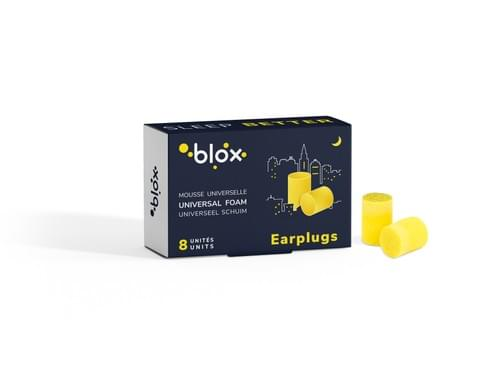 Blox Mousse Cylindrique - 4 paires