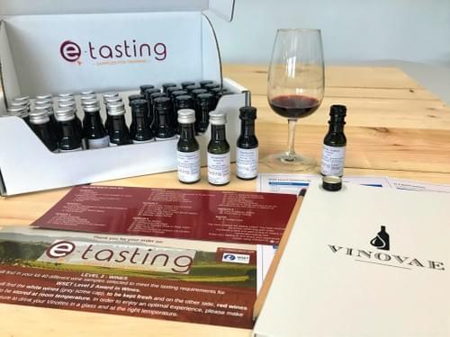 Niveau 2 Vins - Kit de dégustation de 40 Vinottes