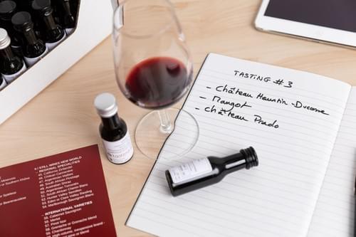 Niveau 3 Vins - Kit de dégustation de 64 Vinottes ®