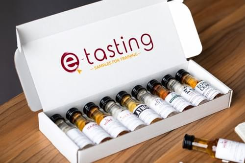 Level 1 Spirits - Tasting kit 9 Vinottes ®