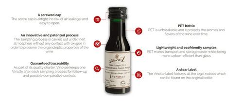 Niveau 2 Spiritueux - Kit de dégustation 32 Vinottes ®