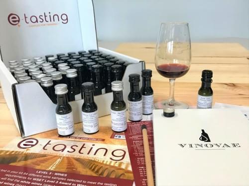 Niveau 3 Vins - Kit de dégustation de 64 Vinottes