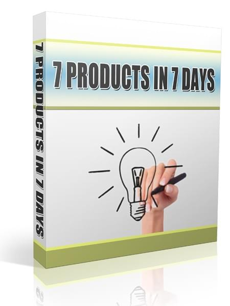7 Products in 7 Days