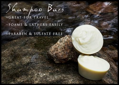 All Natural, Organic Travel Shampoo Bars