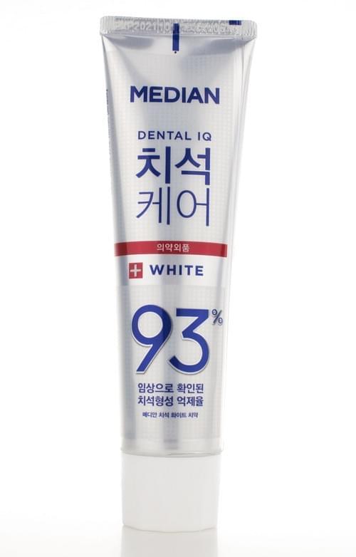 韓國 Median~93%強效淨白去垢牙膏(120g)