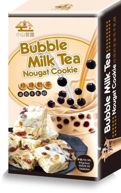珍珠奶茶曲奇牛軋酥 (台灣製造)