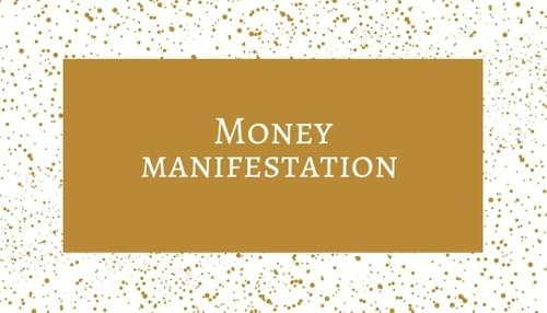 Money manifestation Cards