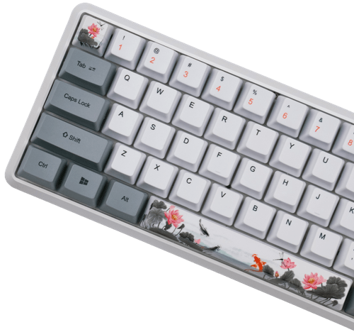 Lotus Pond Koi 118Key PBT Dye Sub Keycap Set
