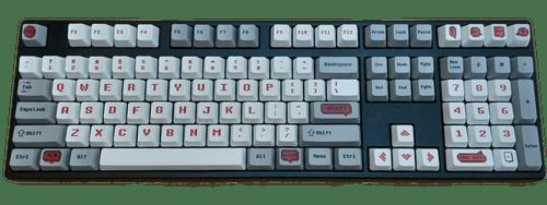 Pixel 108Key PBT Dye Sub Keycap Set
