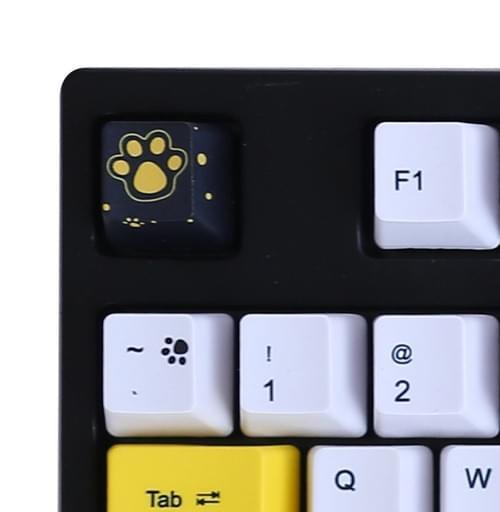 Yellow Puppy  110Key PBT Dye Sub Keycap Set