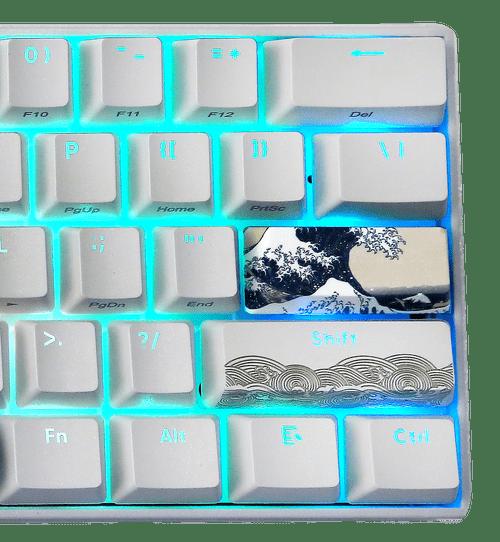 Great Wave 60 , RGB backlit version