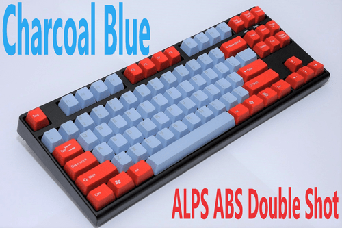 ALPS Stem 104Key ABS Double Shot Keycap