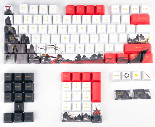 Monkey King ,110Key PBT Dye Sub Keycap Set