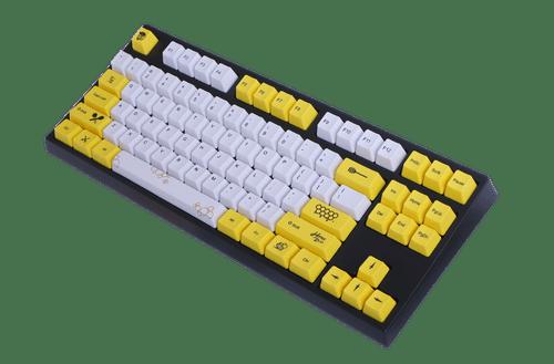 VX80 - Honeybee -PBT Dye-sublimated
