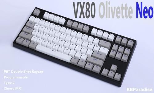 VX80 - Olivette Neo PBT Double Shot
