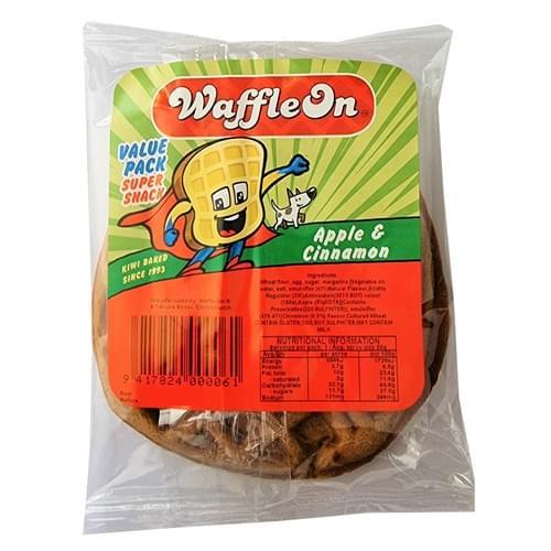 Waffle On 1pk - Apple & Cinnamon