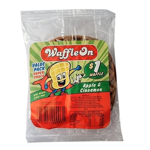 Waffle On 1pk - $1 Apple & Cinnamon