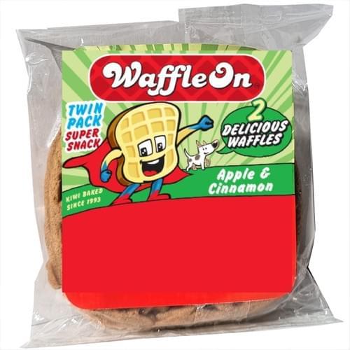 Waffle On 2pk - Apple & Cinnamon