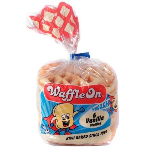 Waffle On 6pk - Vanilla (Plain)