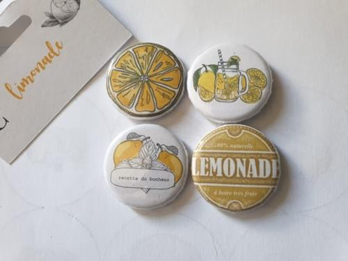 Badges collection limonade