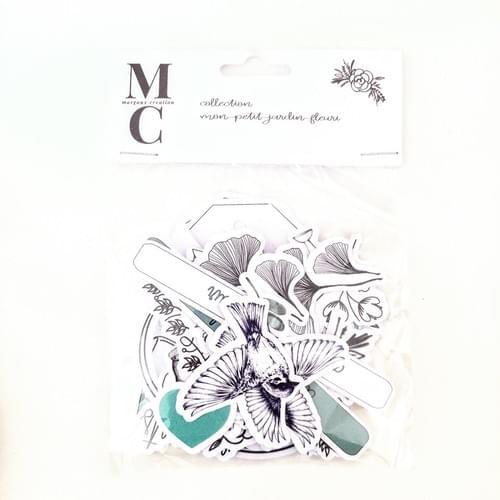 Dies cuts collection mon petit jardin fleuri