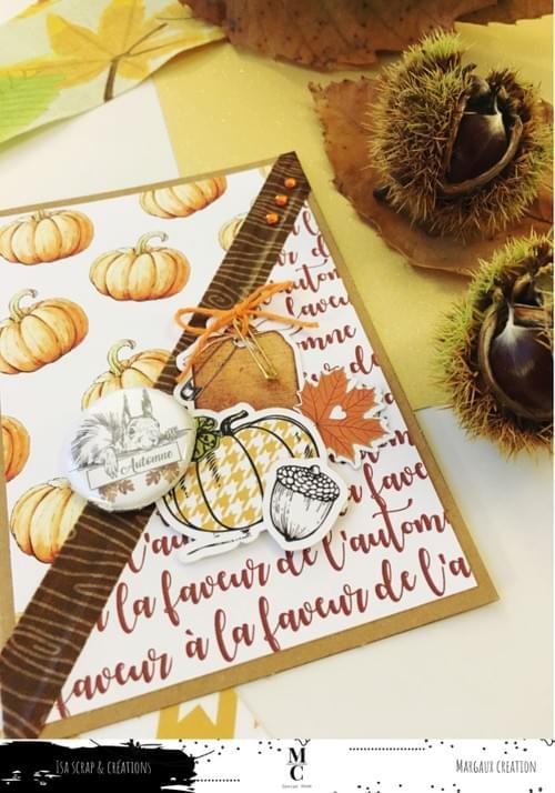 Papiers (de la box) à la faveur de l'automne