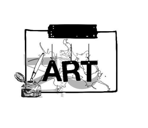 Tampon Imprimable - collection J'aurais voulu être un artiste (5)