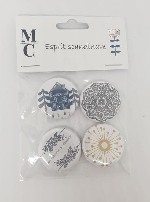 "Badges collection ""Esprit Scandinave """