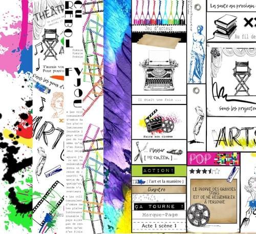 """Papiers collection """" J'aurais voulu être un artiste """""""