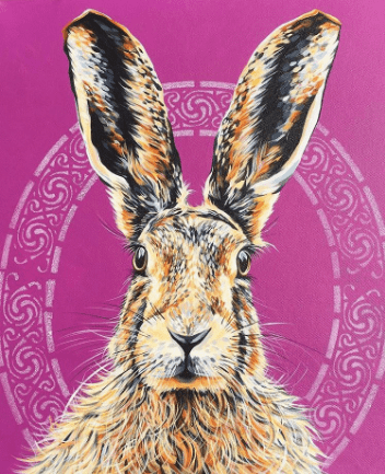 New Print!! Celtic Hare - A3 Limited edition X50 Fine Art Prints