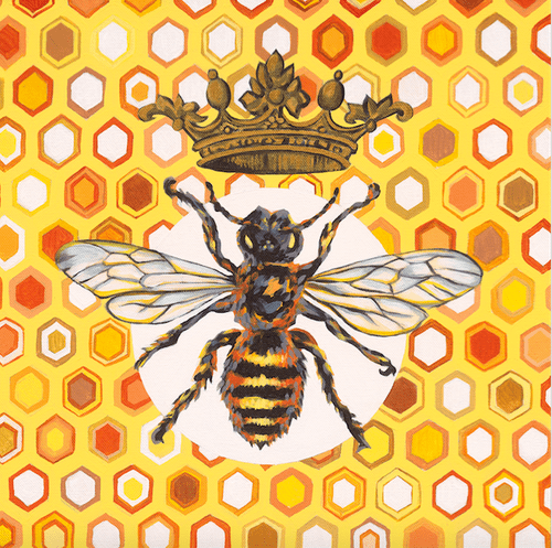 Queen Bee - A3 Limited Edition of 50, Fine Art Print