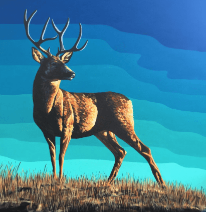 The Stag King - A3 Limited Edition of 50, Fine Art Print