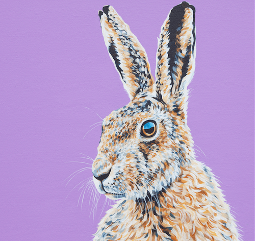 March Hare - A3 Limited Edition of 50, Fine Art Print
