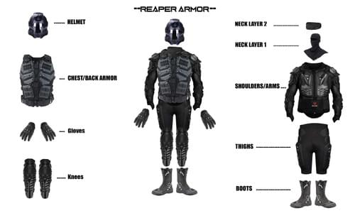 Reaper Armor Set