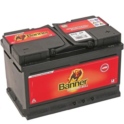 Banner Batterie 70Ah 57044