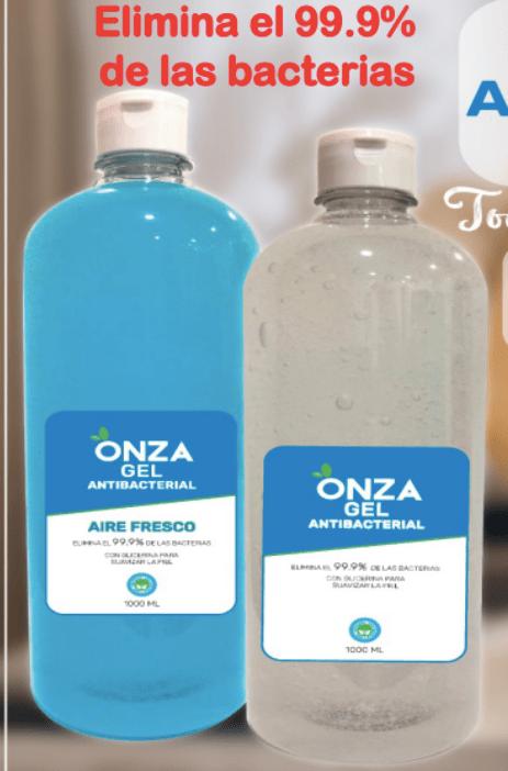 NUEVO GEL ANTIBACTERIAL CON Y SIN AROMA (1.000ml - 5L) -OZ