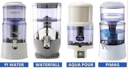 NIKKEN PIMAG WATERFALL, PI WATER Y AQUA POUR DELUXE