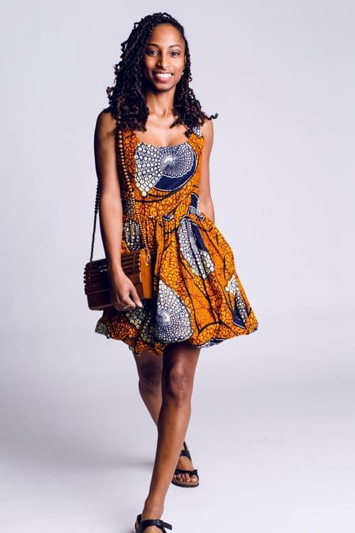 Balloon Strap Dress
