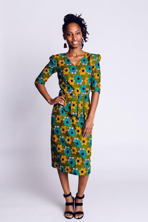 Pencil Peplum Dress