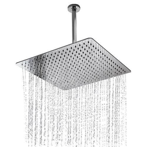 16 Inch Rain ShowerHead, NearMoon Super Large Hotel Stainless Steel Rainfall Showerhead