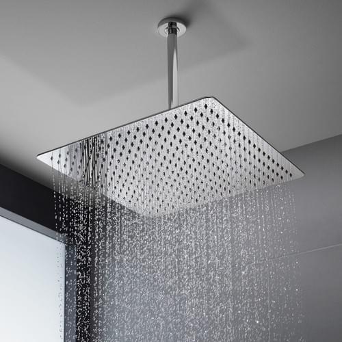 16 Inch Rain ShowerHead, NearMoon Super Large Hotel Stainless Steel Rainfall Showerhead