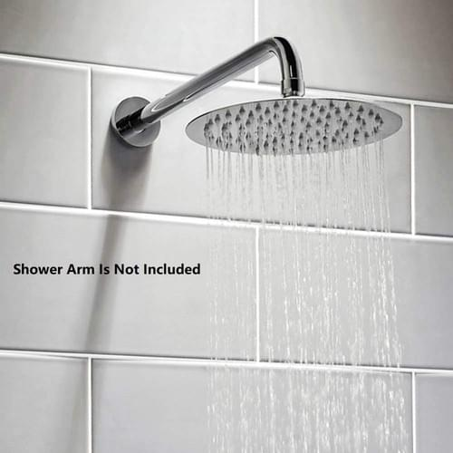 HIGH PRESSURE Shower Head, 6 Inch Rain Showerhead, Ultra-Thin Design-Best Pressure Boosting