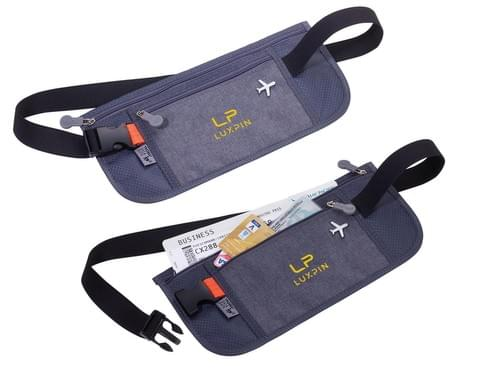 TROIKA ORIGINAL Belt bag with 2 zipper compartments