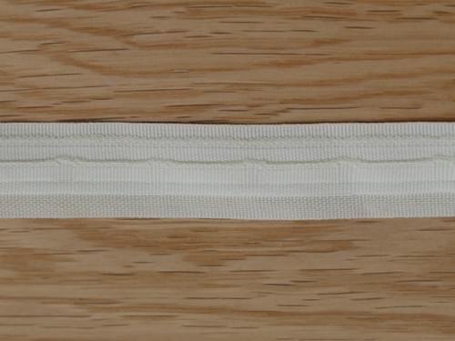 """Strong Quality Slotted Roman Blind Tape in Ivory - 19mm (3/4"""") depth"""