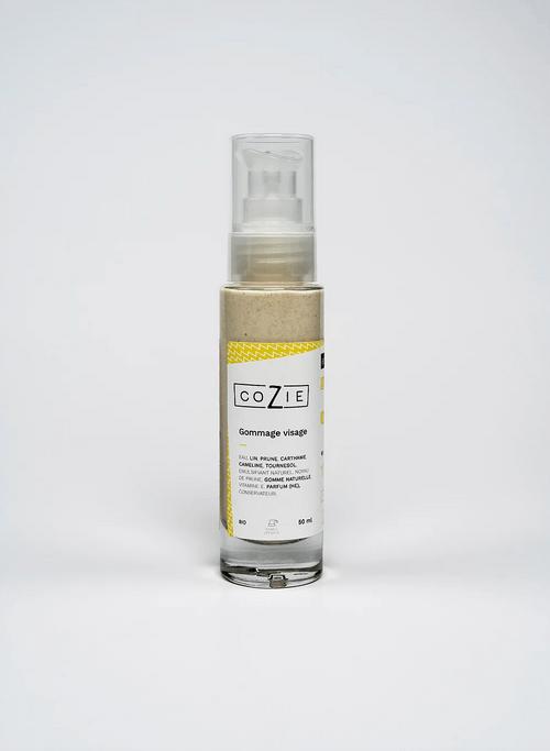 Gommage visage à la poudre de noyau de prune - COZIE - 50 mL - (1,5€ de consigne)