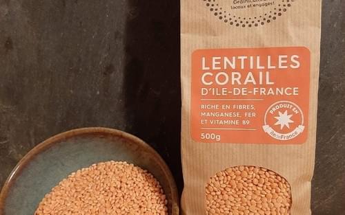 Lentilles corail - 1 unité - Emile et une Graine
