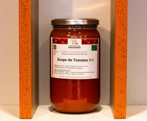 Soupe de tomates BIO - 1 unité - Chatelain Maraichage (95)